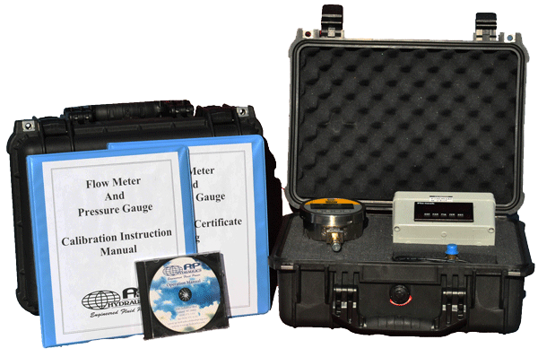 Master Gauge Certification Kit for Hydraulic Test Stands